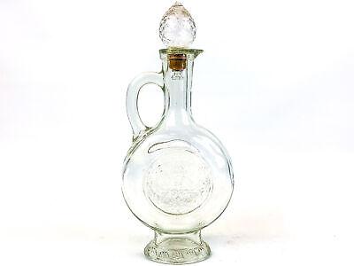 Bottle Vintage Avon Amber Glass Hammer Decanter