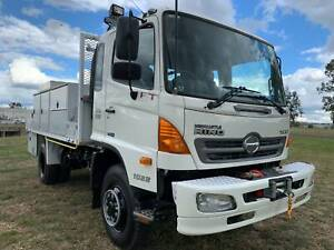 Hino FT1022 500 Series 4x4 Traytop/Service Vehicle Truck. Ex Govt Inverell Inverell Area Preview