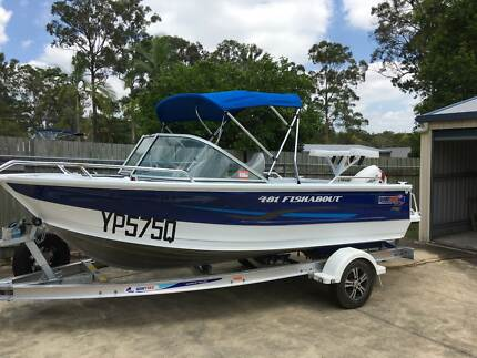 2016 Quintrex 481 Fishabout Boat