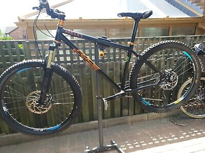 Pace RC127 mountain bike steel framed black and orange