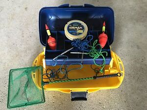 Fishing Poles/Reels,Net,New Lures,Tackle Box,More