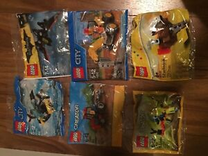 Lego city creator friends polybags new