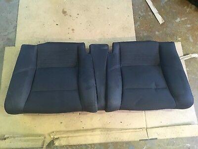 2009 VOLVO C30 R DESIGN T5 REAR SEAT CUSHION BOTTOM LOWER CLOTH FABRIC BLACK OEM Designer Black Fabric Seat