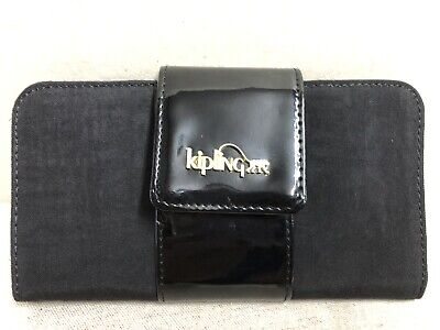 KIPLING GAUDIN BLACK WALLET AC7493 -959 nwot never carried