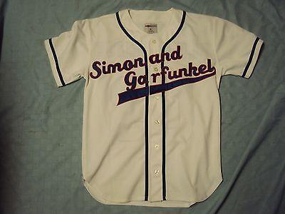 Simon & Garfunkel 2003 Old Friends Baseball Jersey Adult Size Medium NWOT!!