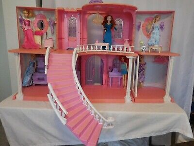 Disney Princess Enchanted Castle Playset Huge + Dolls + Furniture + Accessories -