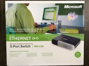 Microsoft 10/100 Ethernet Switch