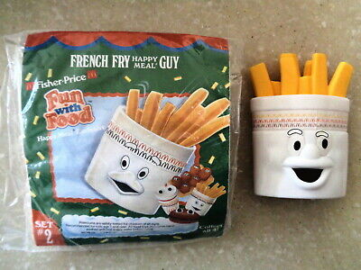 "McDonald's 1989 Fisher-Price ""Fun with Food"" French Fry Guy"