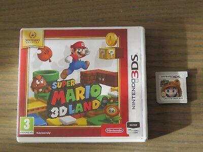 JEU NINTENDO 3DS SUPER MARIO 3D LAND COMPLET EN FRANCAIS ,