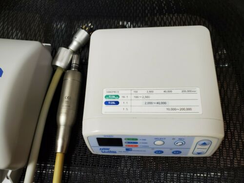 NSK Brasseler Ti-Max NL400 Electric Motor Handpiece System Functions Great!