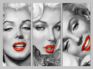 MARILYN MONROE POP ART STYLE CANVAS picture image16