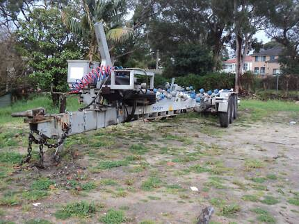 Mackay Boat Trailer 8 Tonne GVM Air Brakes Suit Boats 30-35 Foot Lugarno Hurstville Area Preview