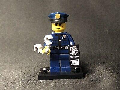 LEGO Minifigure Series 9  Policeman Cop (71000) - Complete Minifigures - Genuine