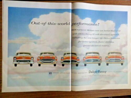 1956 GM Cars Chevrolet Pontiac Oldsmobile Buick Cadillac Delco-Remy