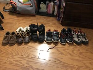 Boys shoes and boots sizes 3-8