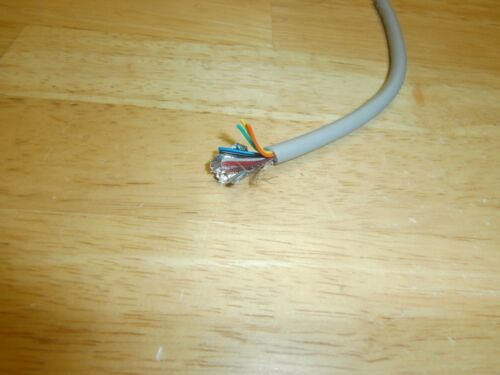 25 Ft 26/9  Shielded 9 Conductor Stranded  26 AWG Data Cable,NEW