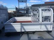 Steel dropside tray - Explorer - Toyota Hilux Dual Cab Welshpool Canning Area Preview