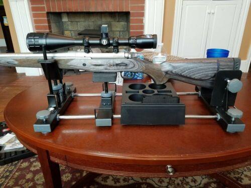 Cleaning Gun Vise Sighting Rifle Handgun Stand Holder Scope Mounting Smithing