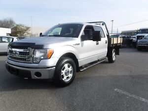2013 Ford F-150 XL SuperCrew Flat Deck 4WD