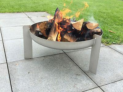 Feuerschale aus Edelstahl Ø 70 cm