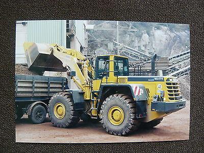 UNGEHEUER Radlader WA 470 - Pressefoto Werk-Foto pressfoto (U0001