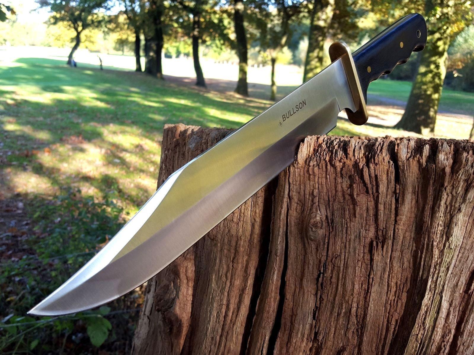 BULLSON USA BUSCHMESSER BOWIE KNIFE JAGDMESSER MACHETE MACHETTE MACETE MESSER