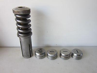 Used Wilson Turret Punch Press Die Set .125 X .500 Rt