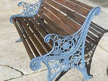 ANTIQUE HEAVY CAST IRON GARDEN BENCH SEAT   PH OR TEXT Riverside West Tamar Preview