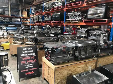 La Marzocco Espresso Coffee Machine Warehouse!!