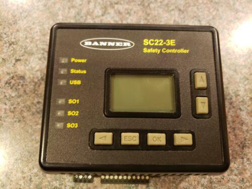 Banner Safety Controller SC22-3E Programmable