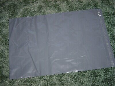 THIRTY EXTRA LARGE SELFSEAL GREY POLY POSTAL BAGS SIZE 68cm x 85cm - 27in x 33in