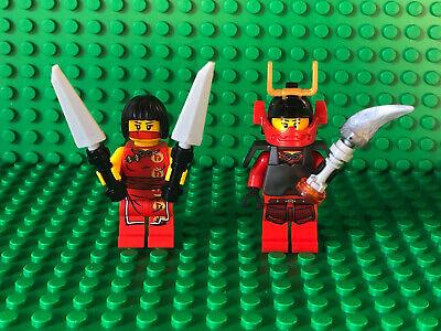 Lego Lot Ninjago NYA SAMURAI X MINIFIGURES Warrior Kai Sister Woman Power Weapon