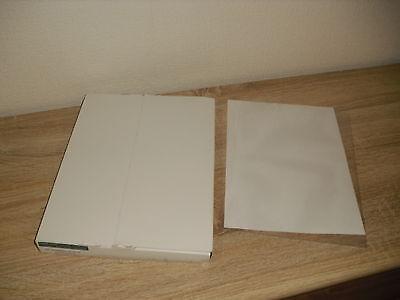 100 Aktenhüllen Langheck & Co Nr 811/4 NEU & OVP Hochwertige Bürovariante DIN A4