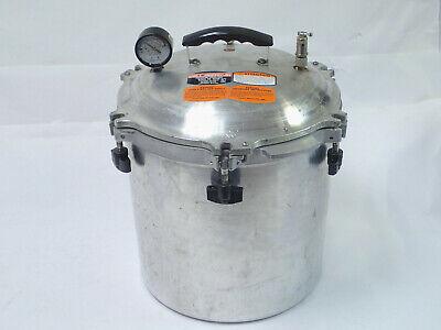 All American Pressure Steam Sterilizer Model 1925x 25 Quart