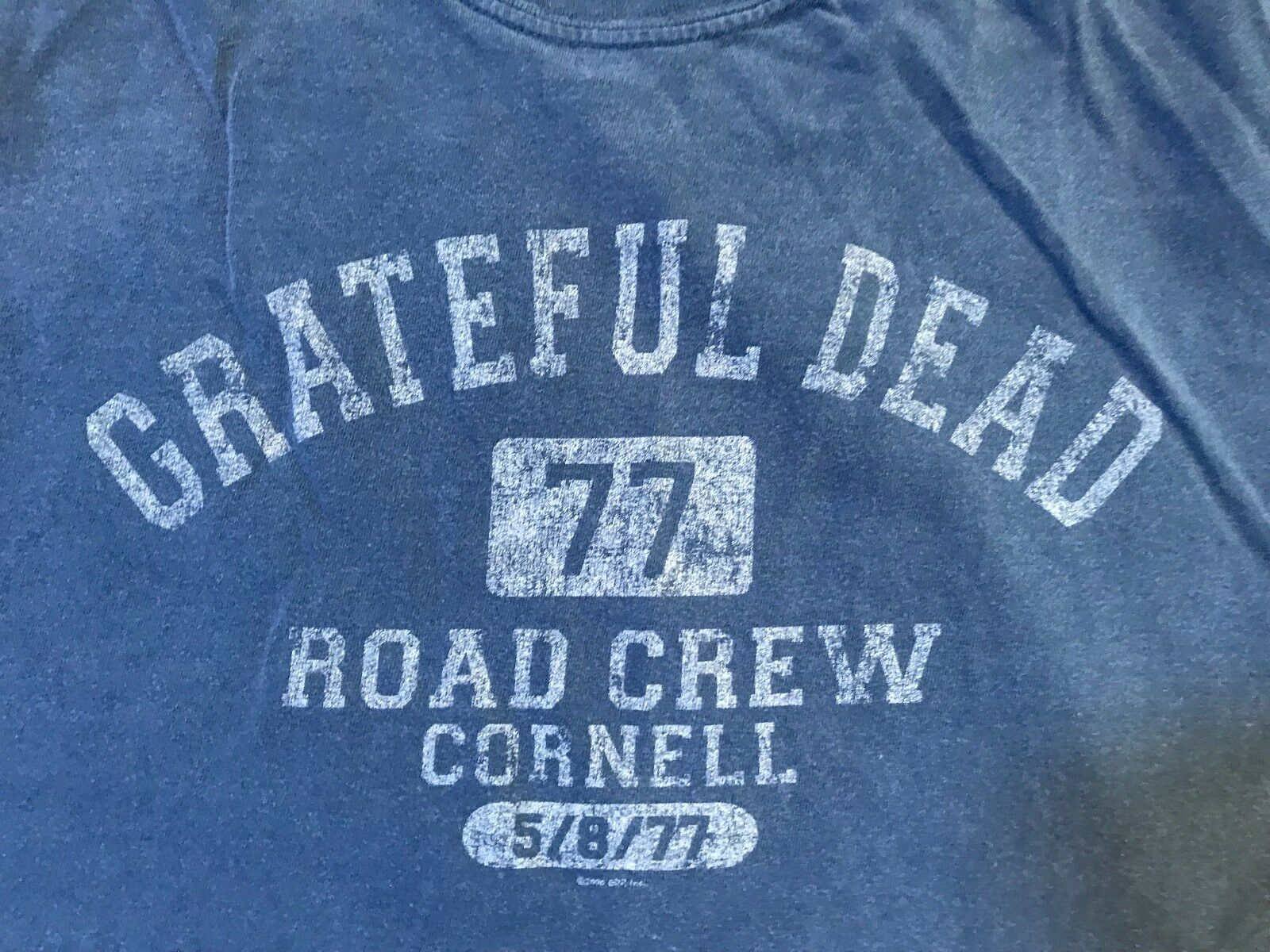 Vintage XXL Grateful Dead Cornell 5/8/1977 Road Crew T-shirt - $29.99