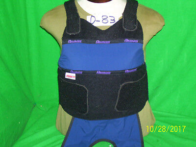 Protecktive Armor Level II Bullet Proof Vest Medium- 2004 # D83- FREE-5X8-Plate