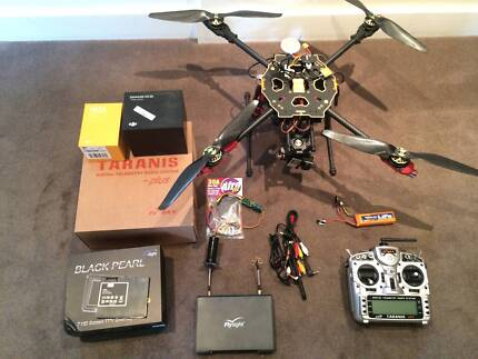 Drone Quadcopter - Tarot 650 Sport with FPV gear - Just Built Hunters Hill Hunters Hill Area Preview