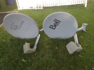 Satellite dishes Bell