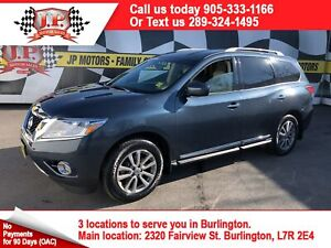 2016 Nissan Pathfinder SV, Leather, 3rd Row Seating, 4x4