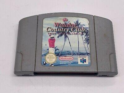 VINTAGE Waialae Country Club Golf True Gold Classics - N64 Nintendo 64 - PAL