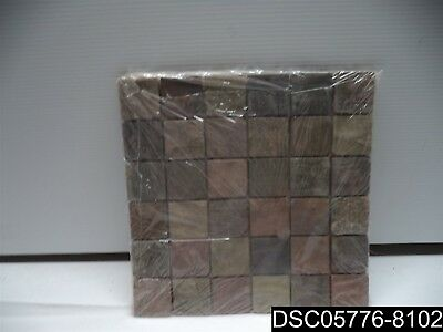 Qty= 10: MSI Mixed Color 12 in. x 12 in. x 10mm Tumbled Slate Mosaic Tile