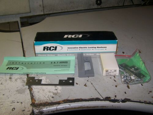 NEW RCI RUTHERFORD CONTROLS 7 SERIES ELECTRIC STRIKES 24 VDC MODEL 7114