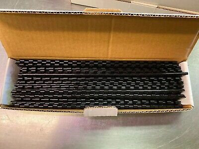 New 316 Black Plastic Binding Combs - 100 Pack 4mm - 19 Rings - Free Shipping