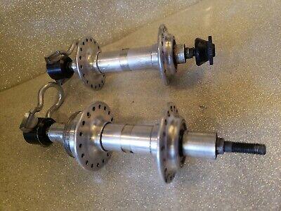 36h 130mm NOS Shimano RSX 7 speed hubs set