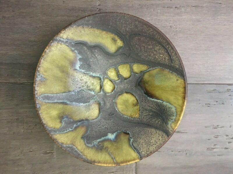 VINTAGEPicasso Madoura Plein Feu Ceramic Bowl abstract design very rare