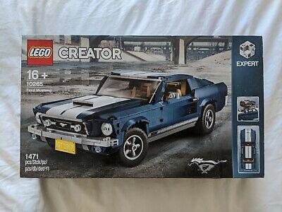 LEGOCreator Expert -- Ford Mustang (10265) -- BRAND NEW