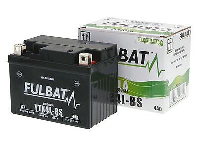Batterie Fulbat Gel High Power 50314 / YTX4L-BS SLA 12V 3AH für Motorrad Roller