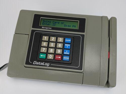 Acroprint Datalog Time & Attendance Terminal - 2.1