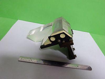 Microscope Leica Reichert Polyvar Prism Assembly Slide Optics Binh7-a-02