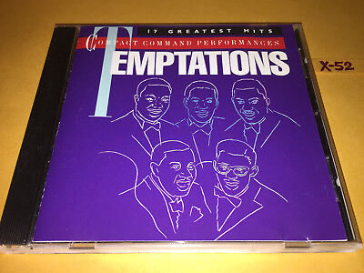 TEMPTATIONS 17 Hits CD Aint Too Proud To Beg MY GIRL Cloud 9 HEY GIRL Losing You - $11.99